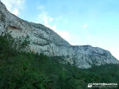 Montgó - Catedral Senderismo- Cova Tallada; valle del silencio bierzo excursiones por almeria viaje